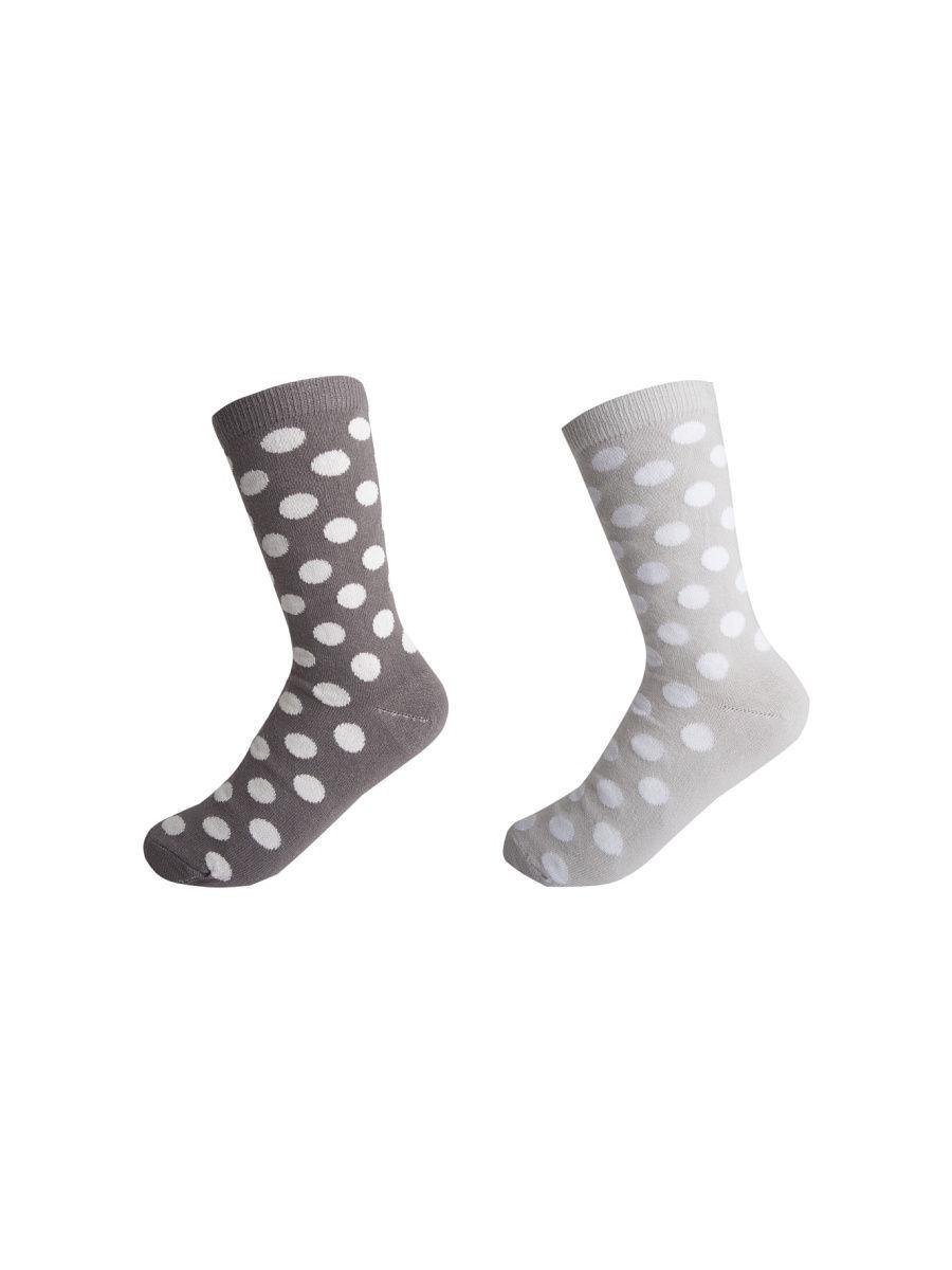 Носки Fancy socks by Oztas 2.5.227к2/т-сер/св-сер