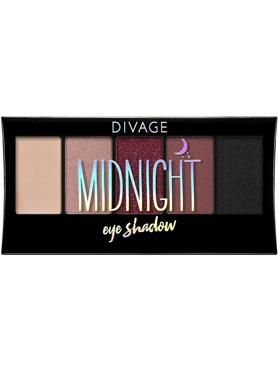 Тени DIVAGE Палетка Теней Для Век Palettes Eye Shadow - Товар Midnight sleek makeup палетка теней quattro eye shadow 2 оттенка палетка теней quattro eye shadow midnight blues тон 332