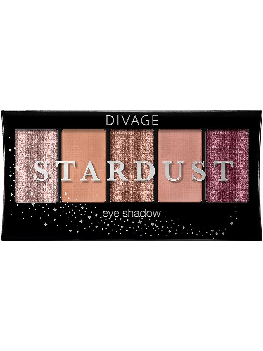 Тени DIVAGE Палетка Теней Для Век Palettes Eye Shadow - Товар Stardust sleek makeup палетка теней quattro eye shadow 2 оттенка палетка теней quattro eye shadow midnight blues тон 332