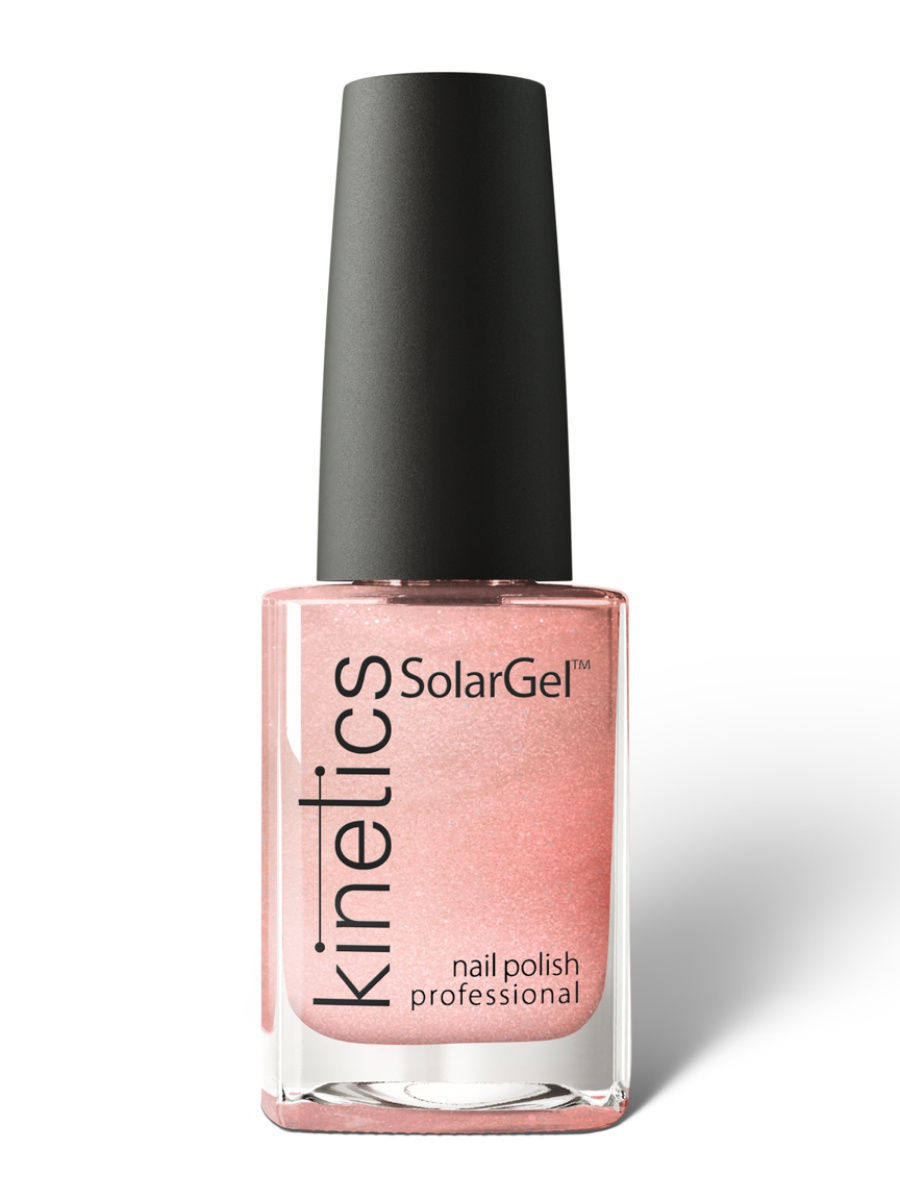 Лаки для ногтей Kinetics Профессиональный лак SolarGel Polish 15 мл, тон № 132 Morning on the Beach лаки для ногтей kinetics профессиональный лак solargel polish 15 мл тон 226 paris green