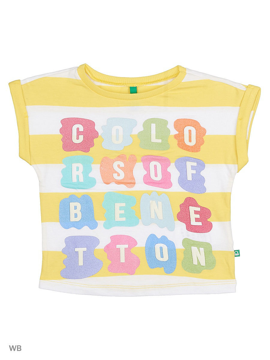 Футболка United Colors of Benetton (Юнайтед Колорс оф Бенеттон) 3CVZC137F/909