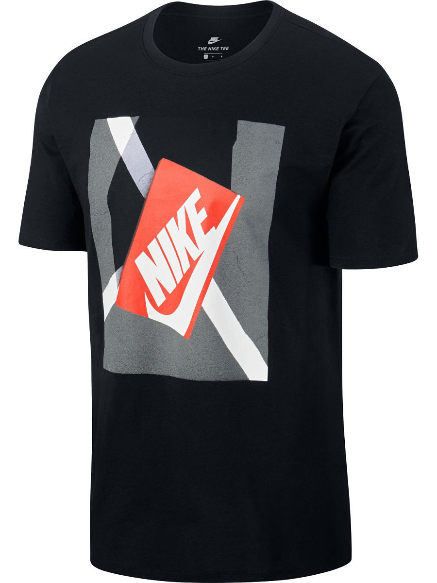 Футболка Nike Футболка M NSW TEE SHOEBOX PHOTO