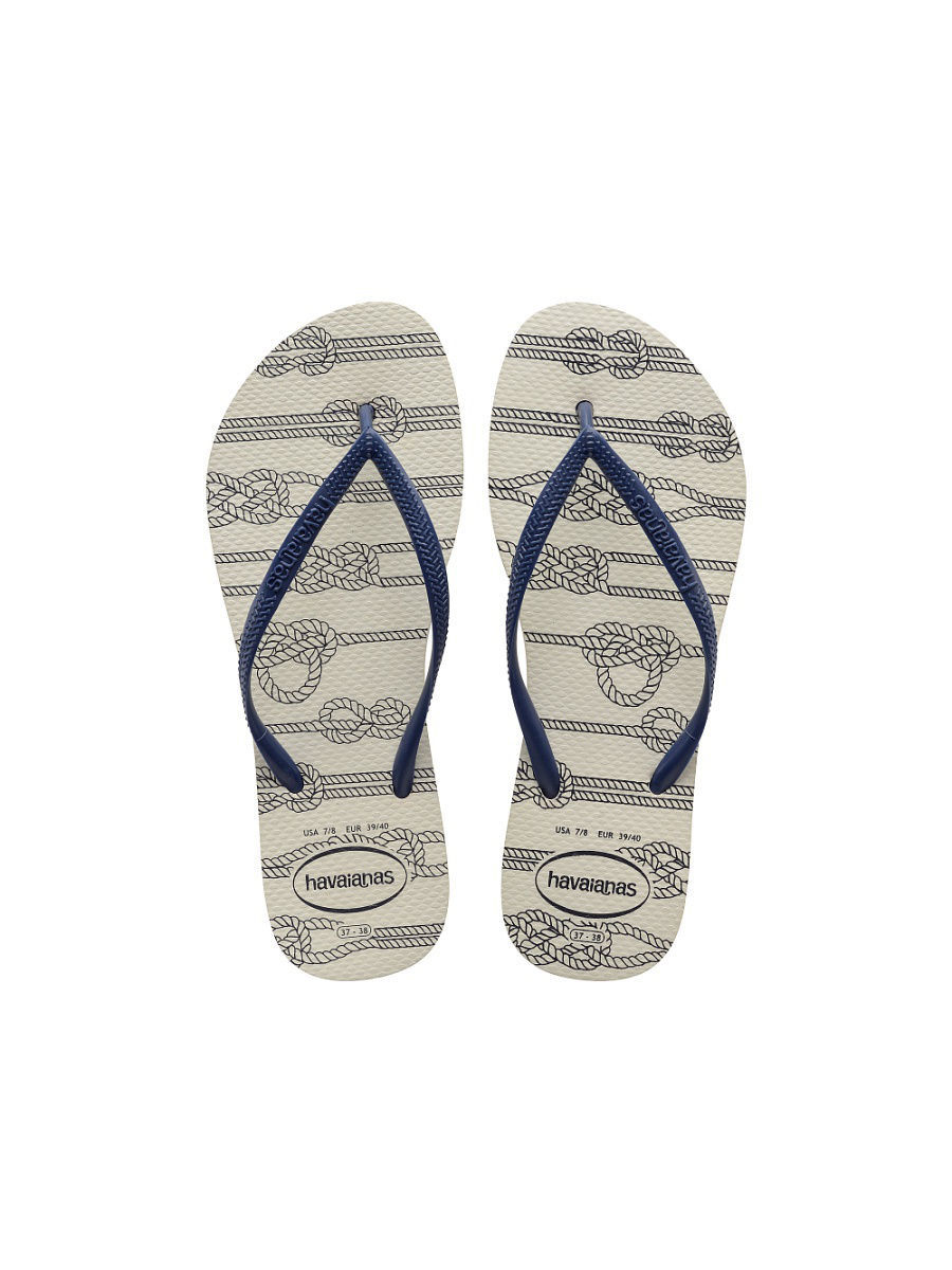 Шлепанцы Havaianas Шлепанцы HAVAIANAS  HAVAIANAS  SLIM NAUTICAL шлепанцы havaianas slim
