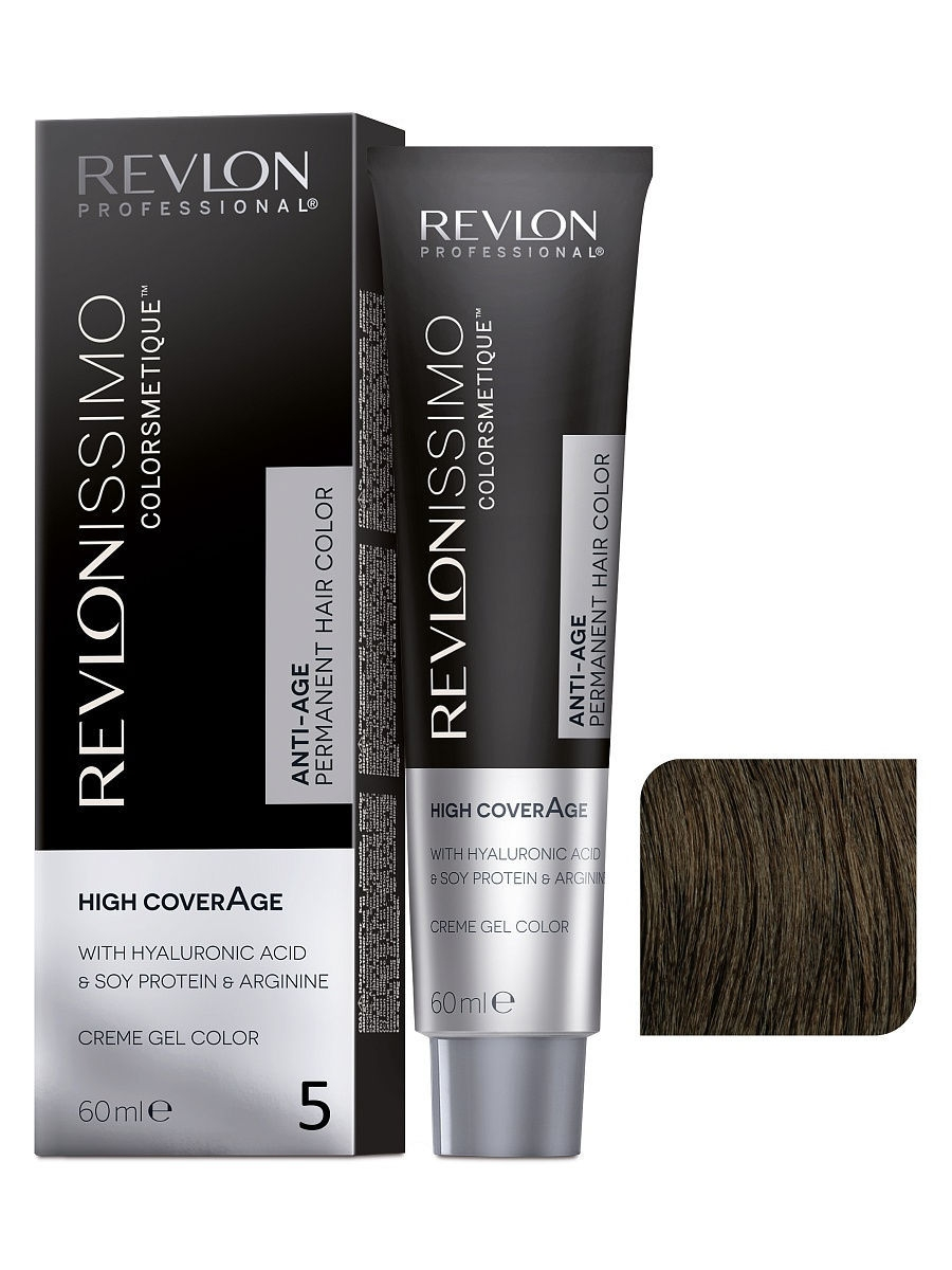 Краски для волос Revlon Professional Краска для волос RP REVLONISSIMO COLORSMETIQUE HIGH COVERAGE 5 60 мл. краски для волос revlon professional краска для волос rp revlonissimo colorsmetique cromatics c50 60 мл