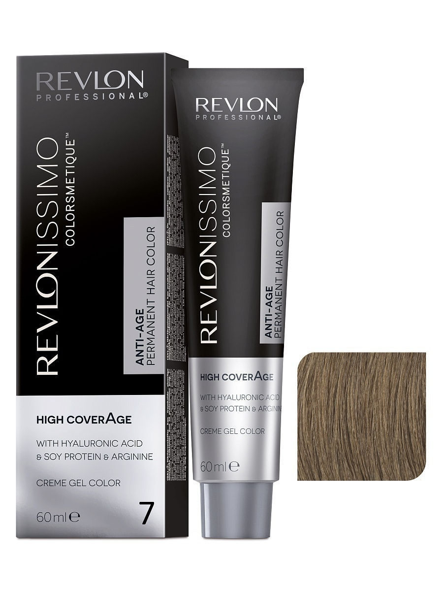 Краски для волос Revlon Professional Краска для волос RP REVLONISSIMO COLORSMETIQUE HIGH COVERAGE 7 60 мл. краски для волос revlon professional краска для волос rp revlonissimo colorsmetique cromatics c50 60 мл