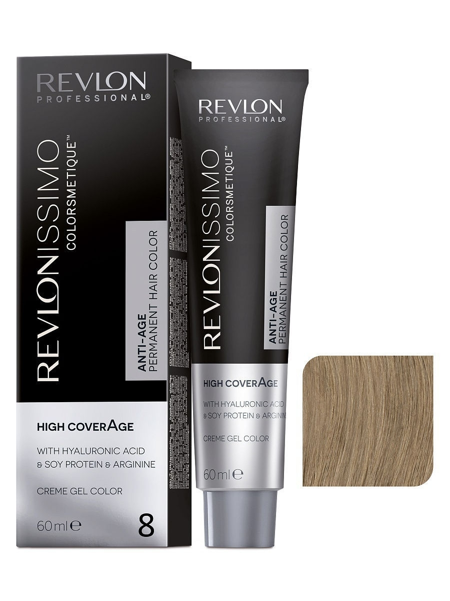 Краски для волос Revlon Professional Краска для волос RP REVLONISSIMO COLORSMETIQUE HIGH COVERAGE 8 60 мл. краски для волос revlon professional краска для волос rp revlonissimo colorsmetique cromatics c50 60 мл