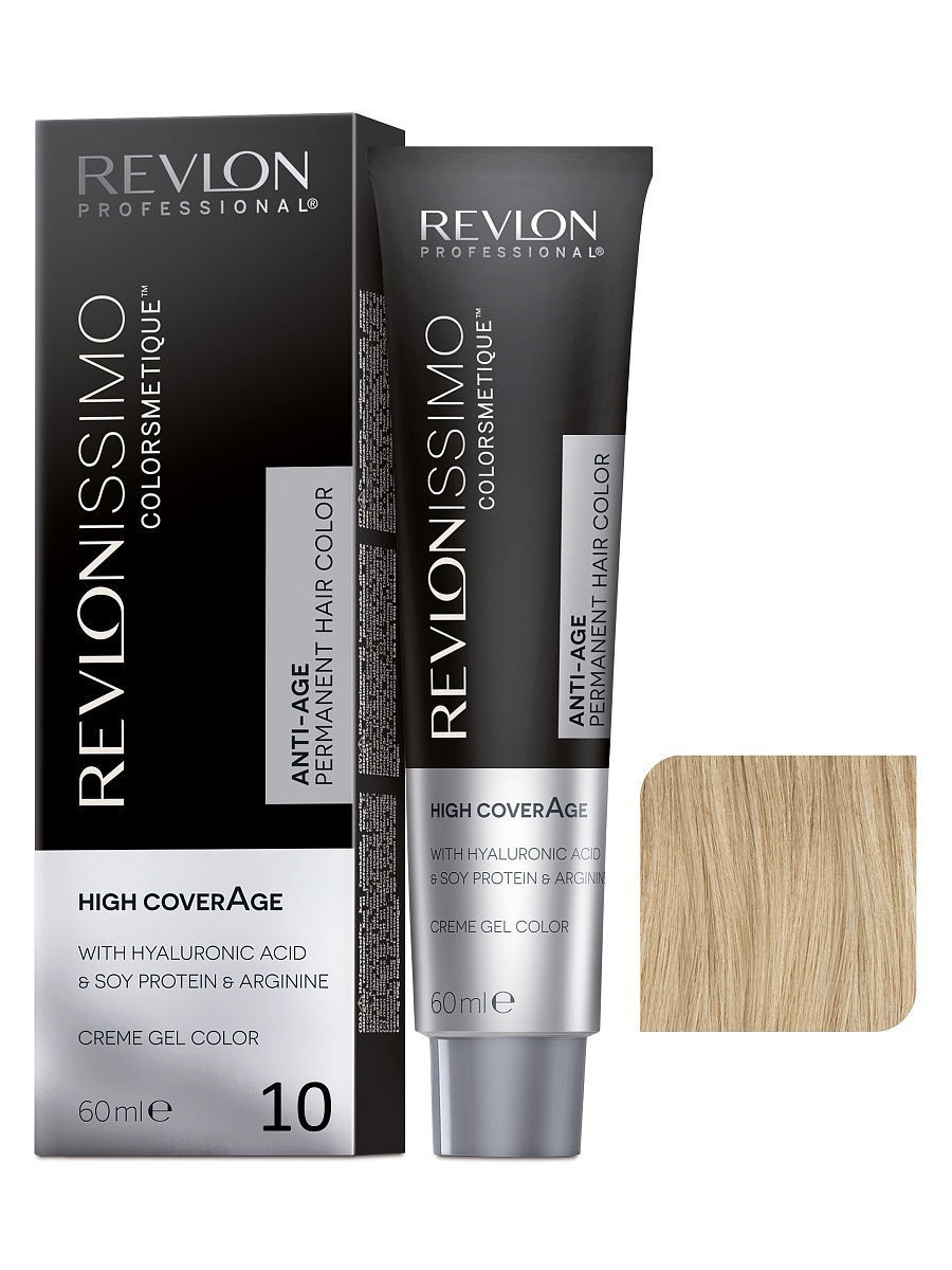 Краски для волос Revlon Professional Краска для волос RP REVLONISSIMO COLORSMETIQUE HIGH COVERAGE 10 60 мл. краски для волос revlon professional краска для волос rp revlonissimo colorsmetique cromatics c50 60 мл