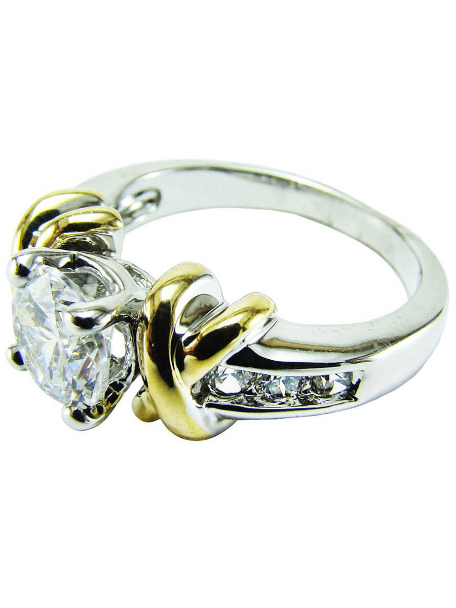 Кольцо Taya LX T-B-4768-RING-RH.GOLD
