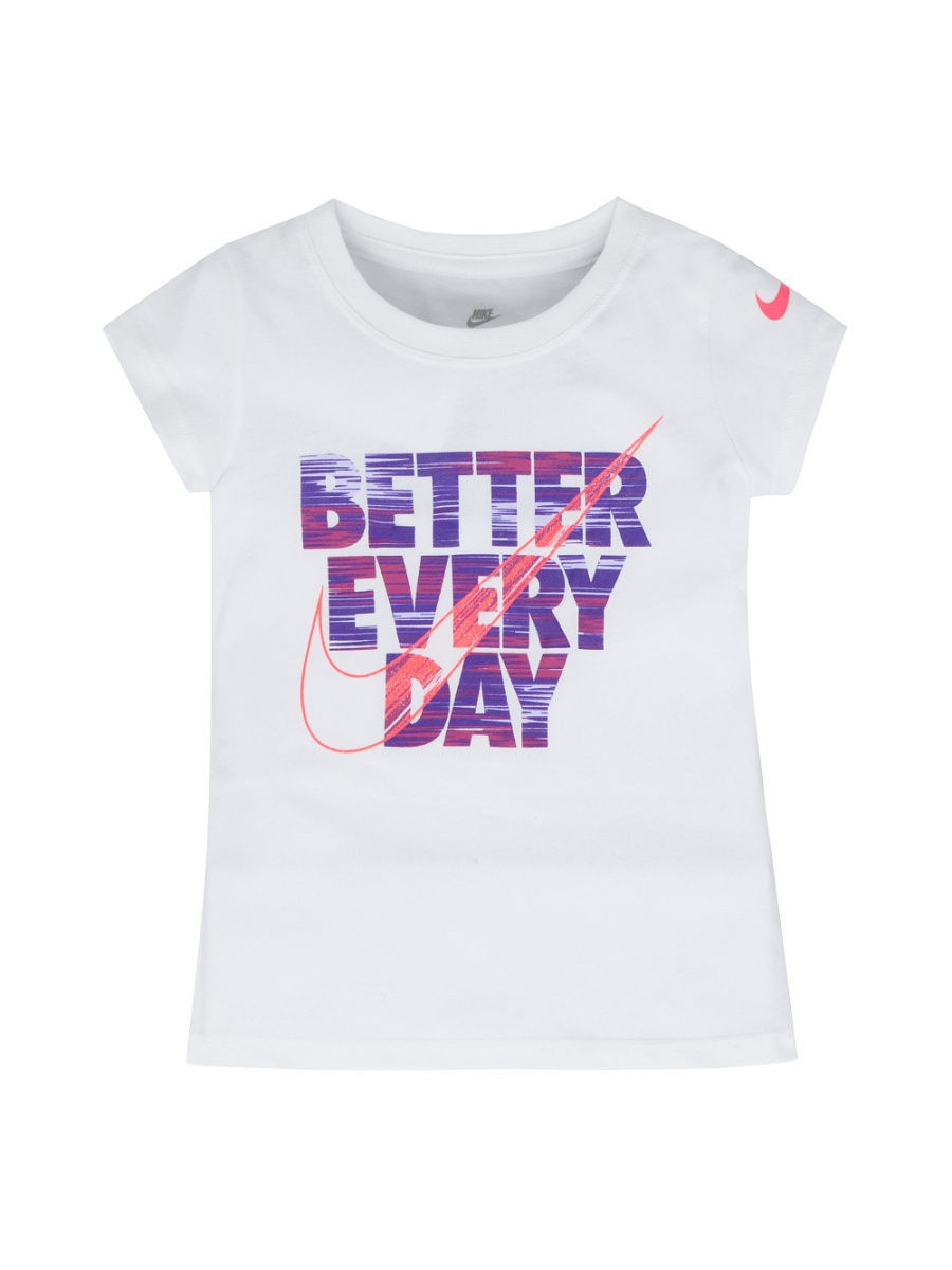 Футболка Nike Футболка NKG BETTER EVERY DAY CORE SS TEE игровая форма nike футболка детская nike ss precision iii jsy boys 645918 410