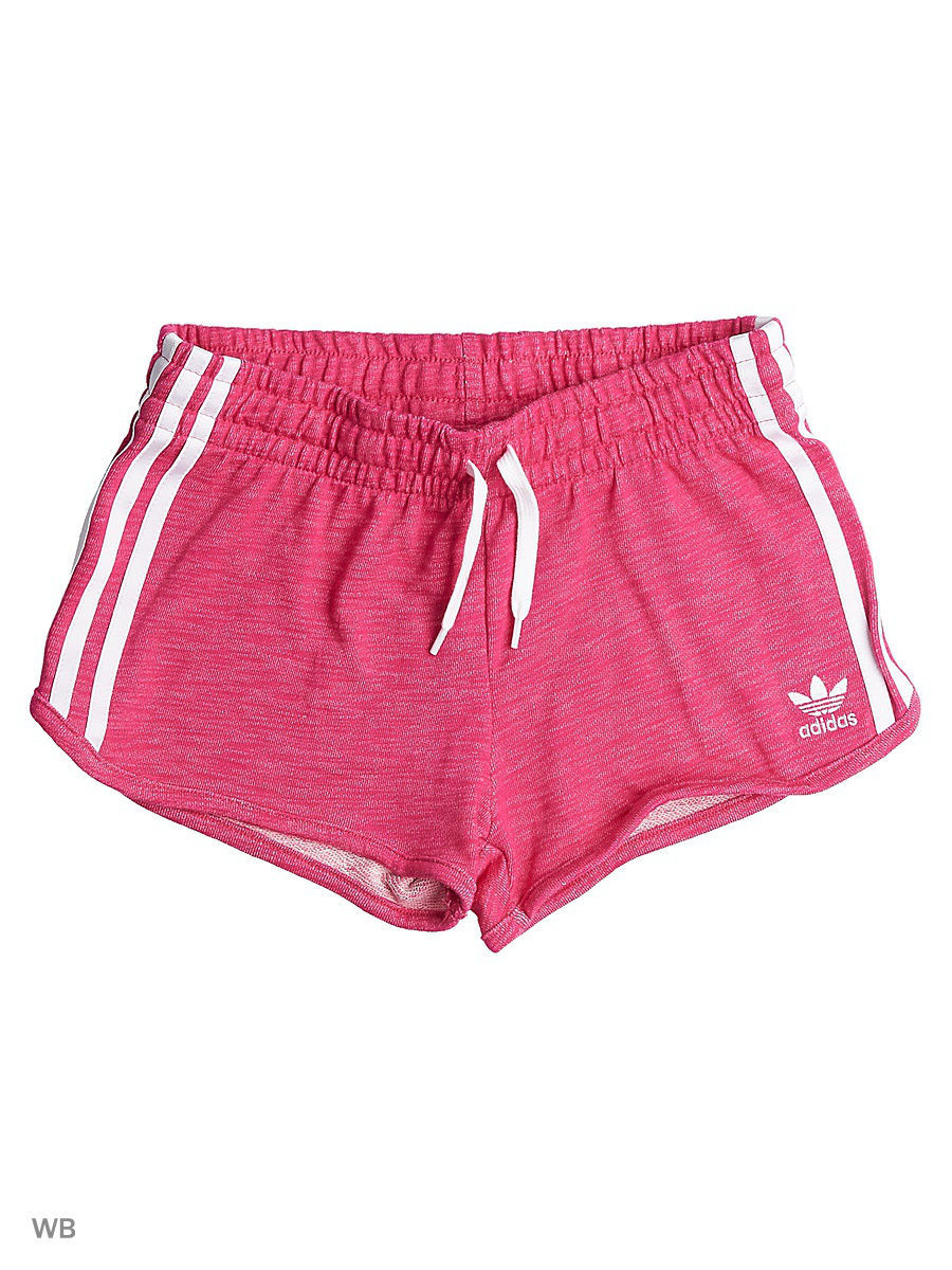 Шорты Adidas Шорты J TRF FT SHORT EASPNK/WHITE roxy шорты cruisin short j bdsh