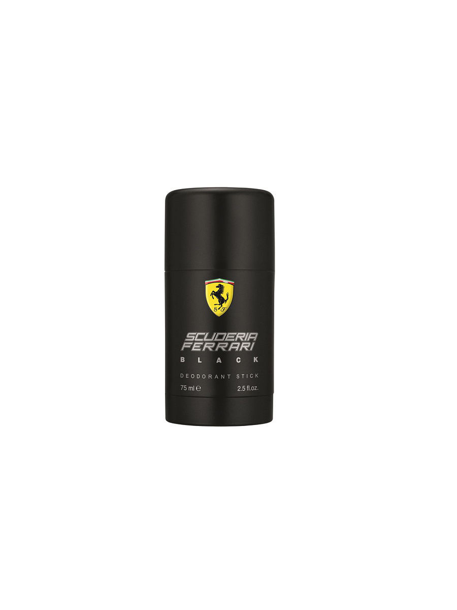Дезодоранты FERRARI SCUDERIA Дезодорант-стик BLACK, 75 мл acqua di parma colonia club дезодорант стик colonia club дезодорант стик