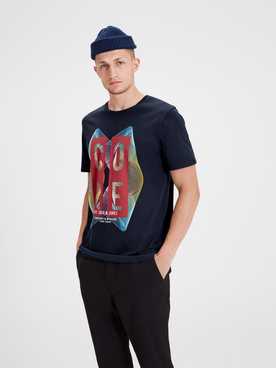 Футболка Jack & Jones 12117913/SkyCaptain/REG