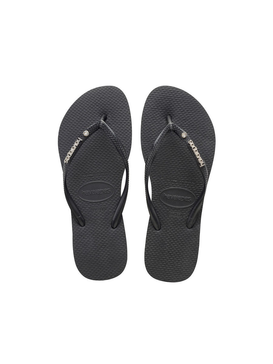Шлепанцы Havaianas Шлепанцы HAVAIANAS SLIM METAL LOGO AND CRYSTAL шлепанцы havaianas slim