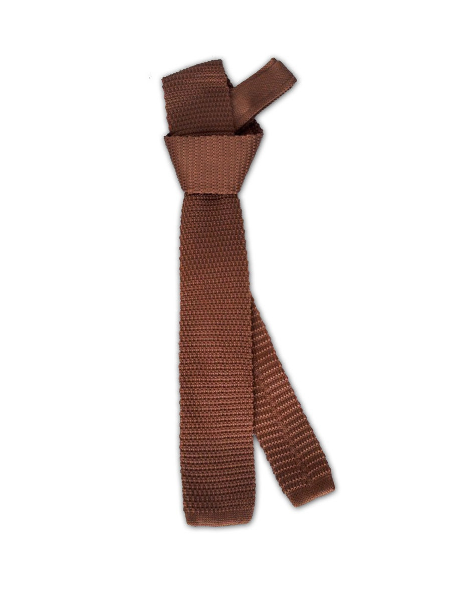 Галстук Imperator Knitted-Brown
