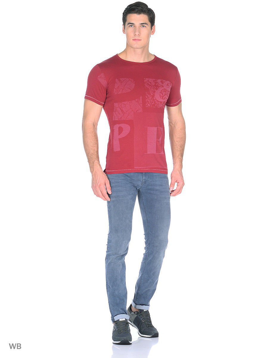 Футболка Pepe Jeans London PM503719/284GARNET