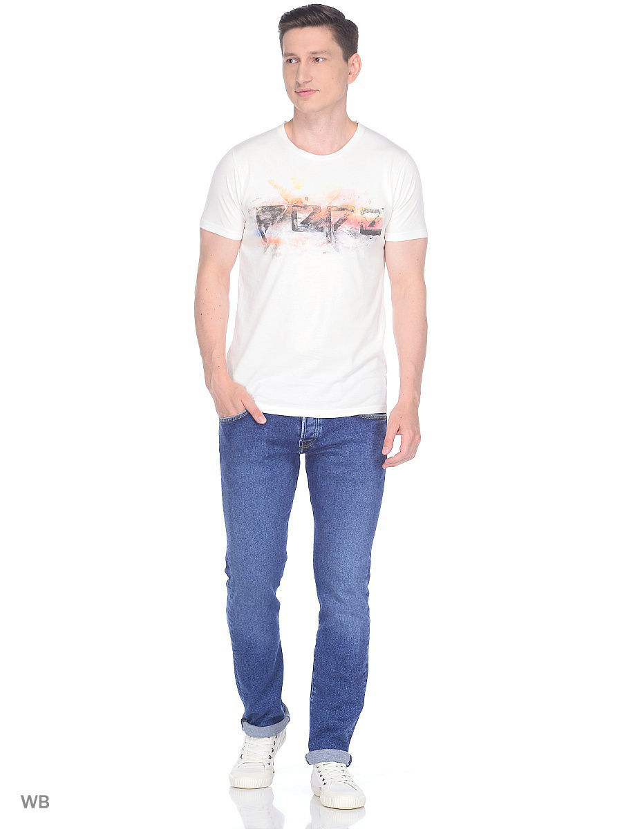 Футболка Pepe Jeans London PM503725/803OFFWHITE