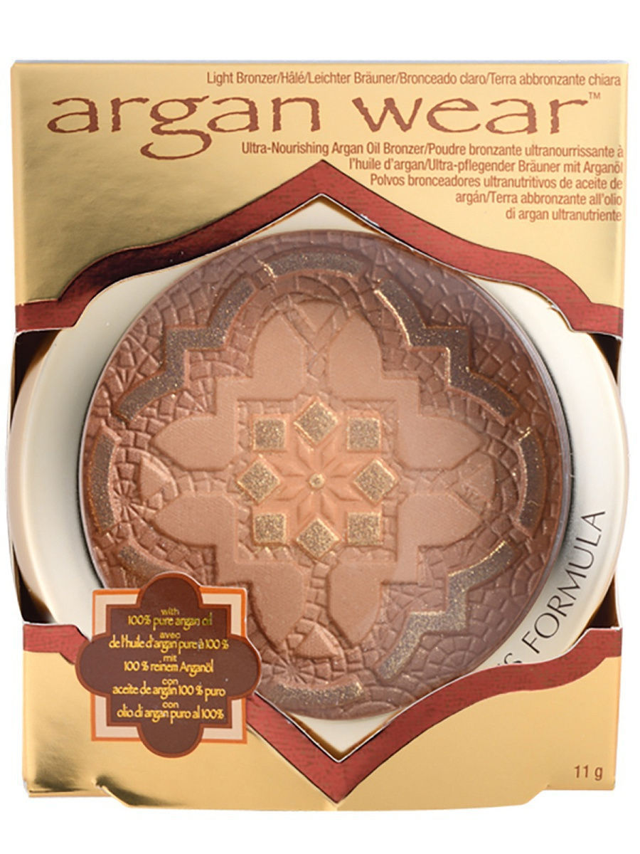 Пудры Physicians Formula Пудра бронзер с аргановым маслом Argan Wear Ultra-Nourishing Argan Oil Bronzer тон светл загар 11 г ultra mens sport multivitamin formula как принимать