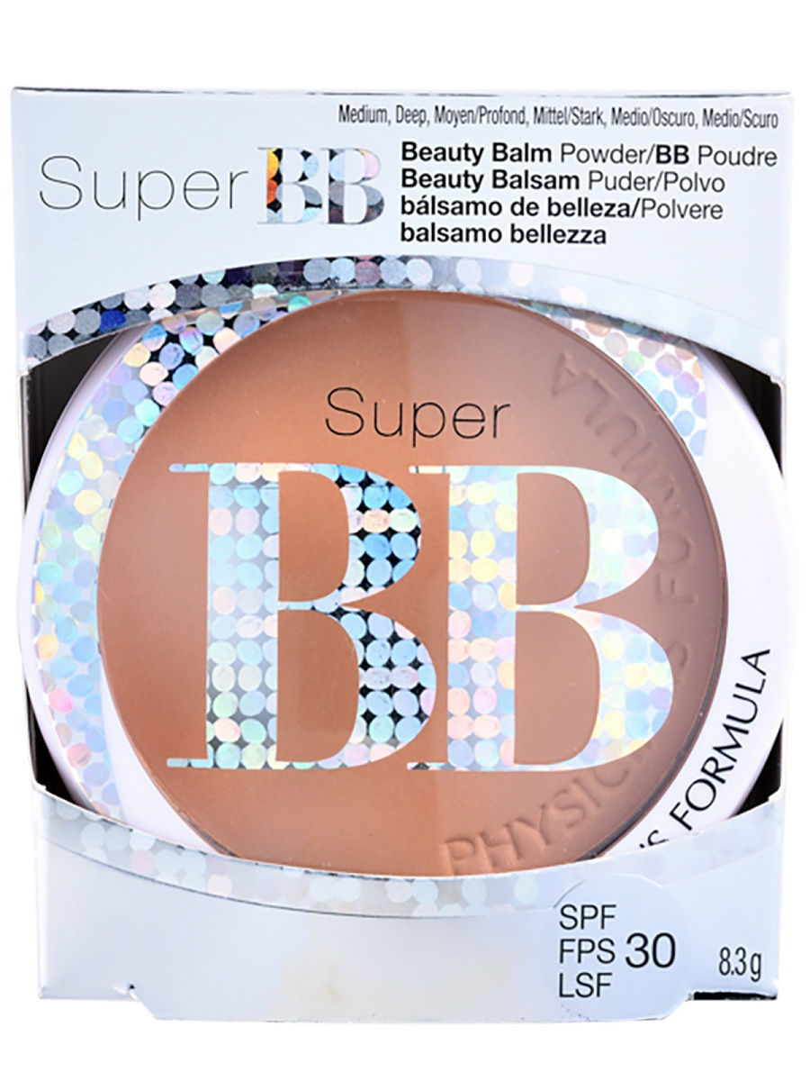 Пудры Physicians Formula Вb Пудра SPF 30 Super BB Beauty Balm Powder тон средний/темный 8.3 г ultra mens sport multivitamin formula как принимать