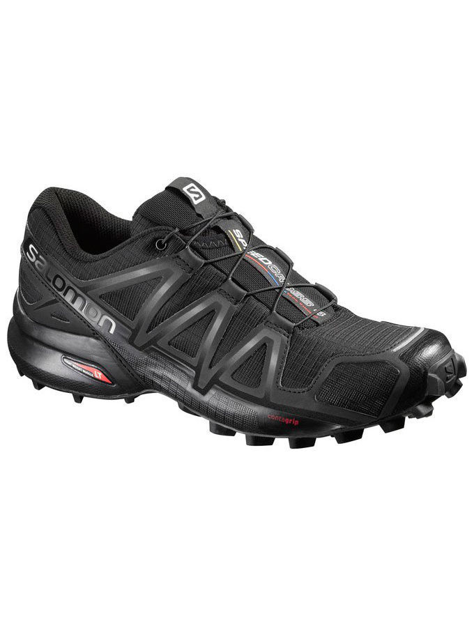 Кроссовки SALOMON Кроссовки SHOES SPEEDCROSS 4 W BLACK/BK/BLACK META кроссовки salomon кроссовки shoes xa lite bk quiet shad imperial b