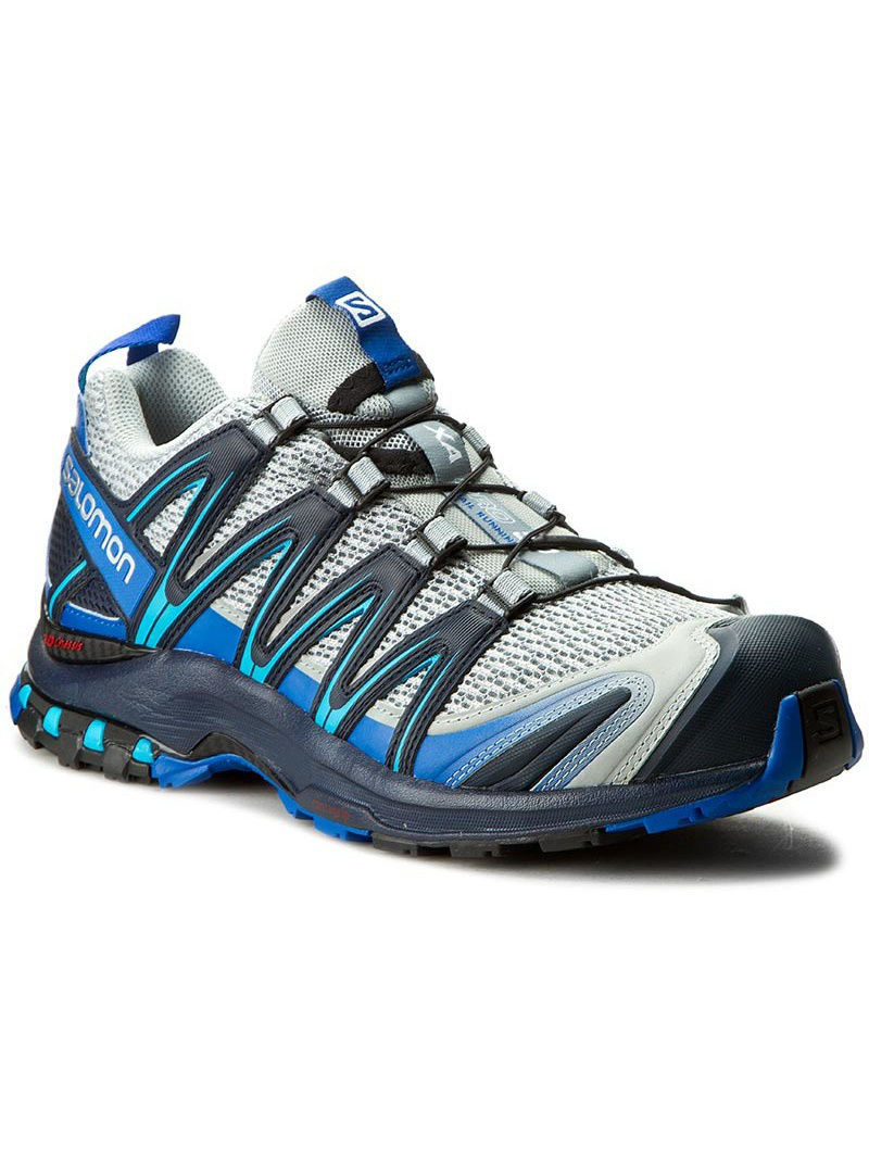 Кроссовки SALOMON Кроссовки SHOES XA PRO 3D Quarry/Nautical B/Hawaii кроссовки salomon кроссовки shoes xa lite bk quiet shad imperial b