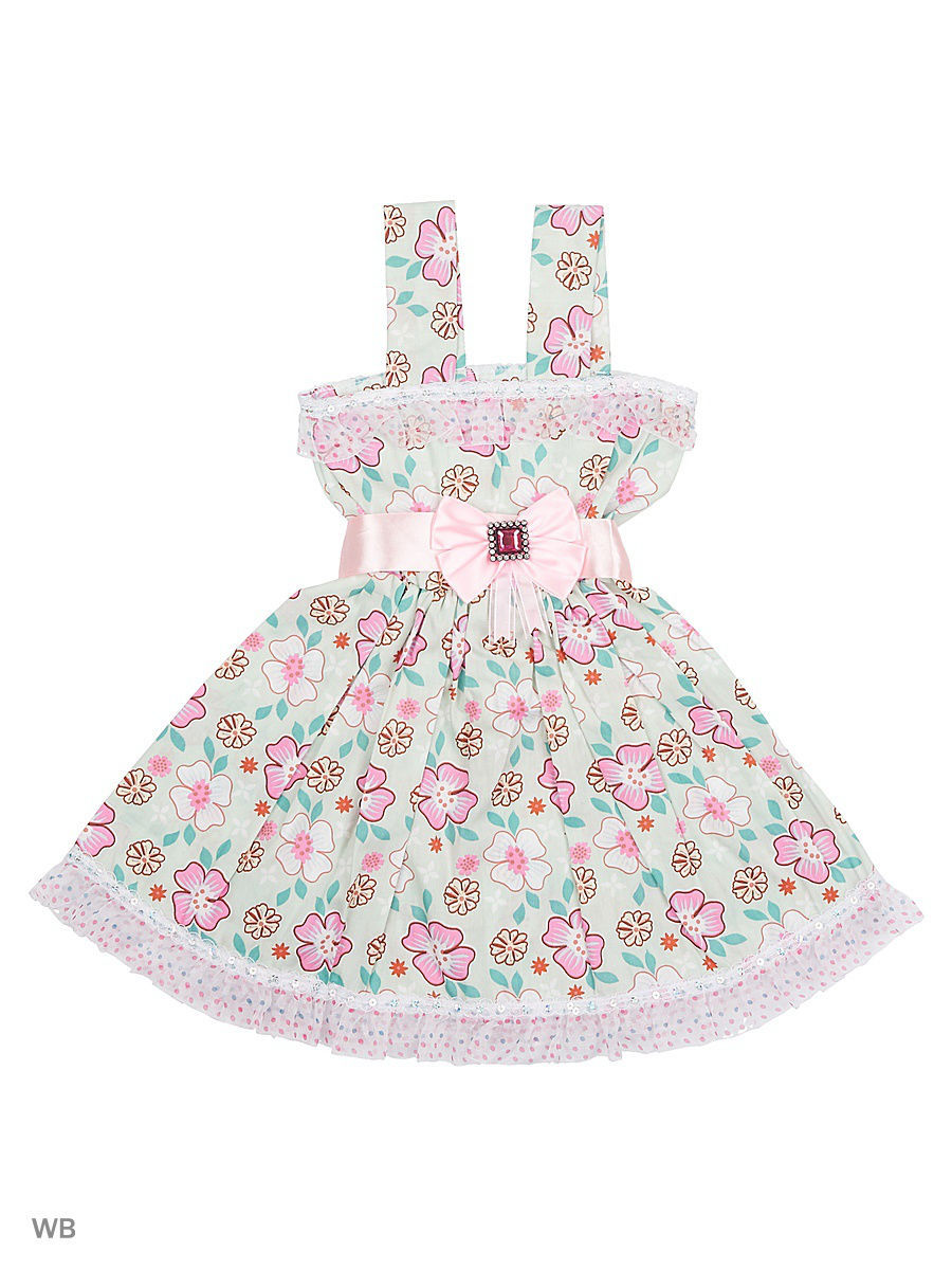 Платье Babycollection 12CR-440/8/d/оливковый