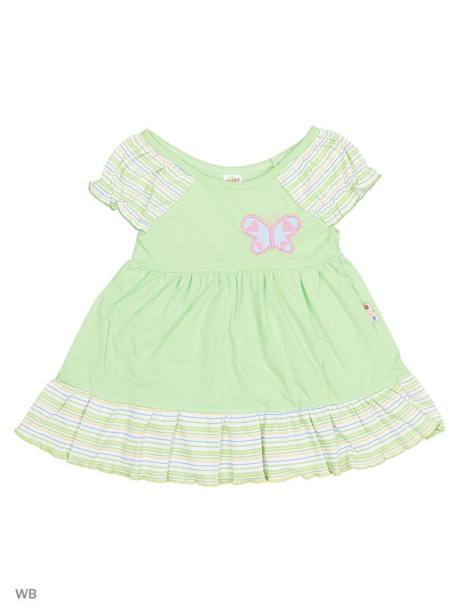 Платье Babycollection 20/1Baby-98/14/d/салатовый