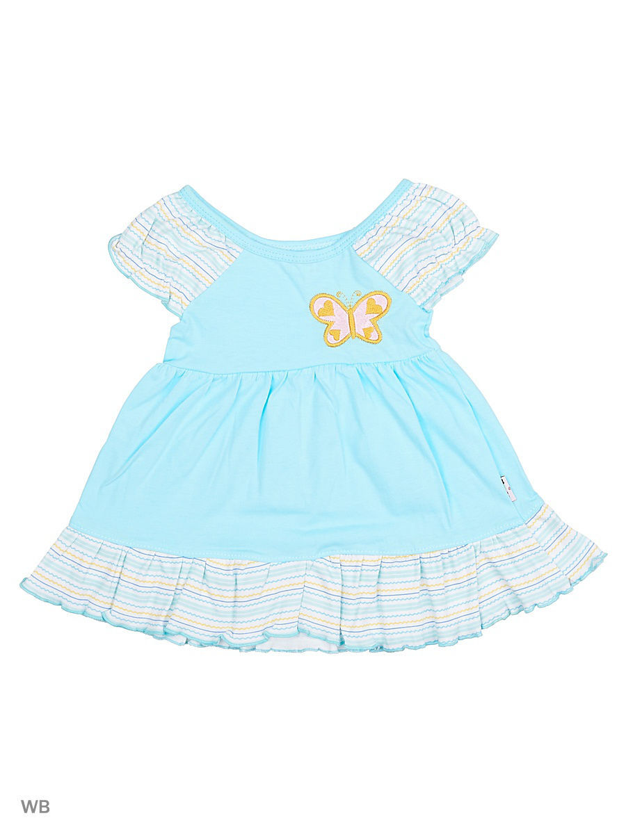 Платье Babycollection 20/1Baby-98/41/d/голубой