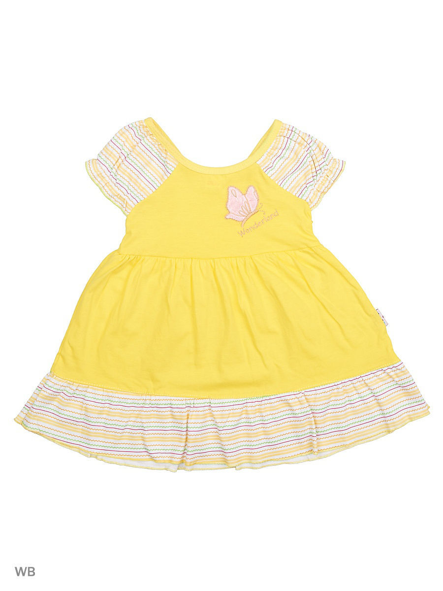 Платье Babycollection 20Baby-98/01/d/желтый