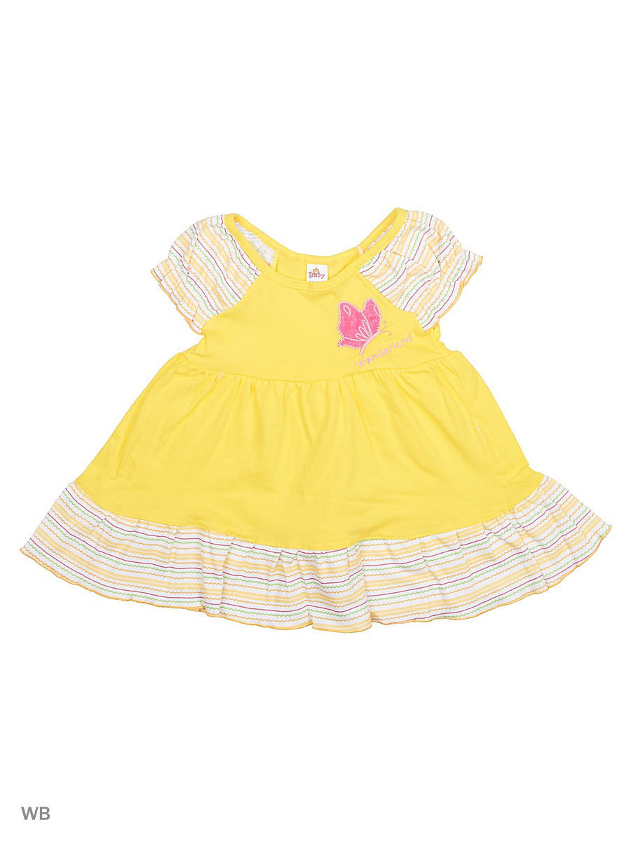 Платье Babycollection 20Baby-98/03/d/желтый