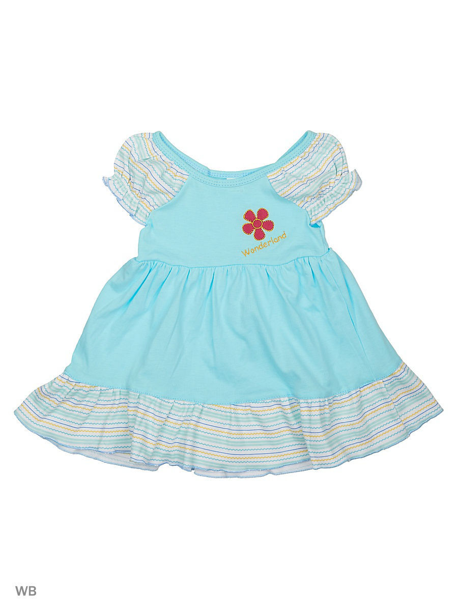 Платье Babycollection 20Baby-98/10/d/голубой