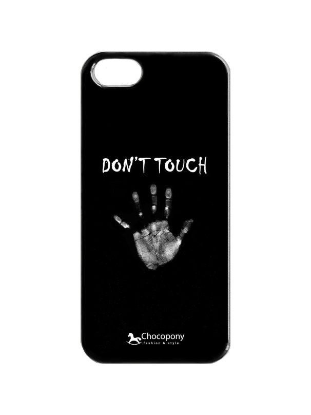 Чехлы для телефонов Chocopony Чехол для iPhone 5/5s Dont touch чехол для iphone 5 5s зодиаки chocopony