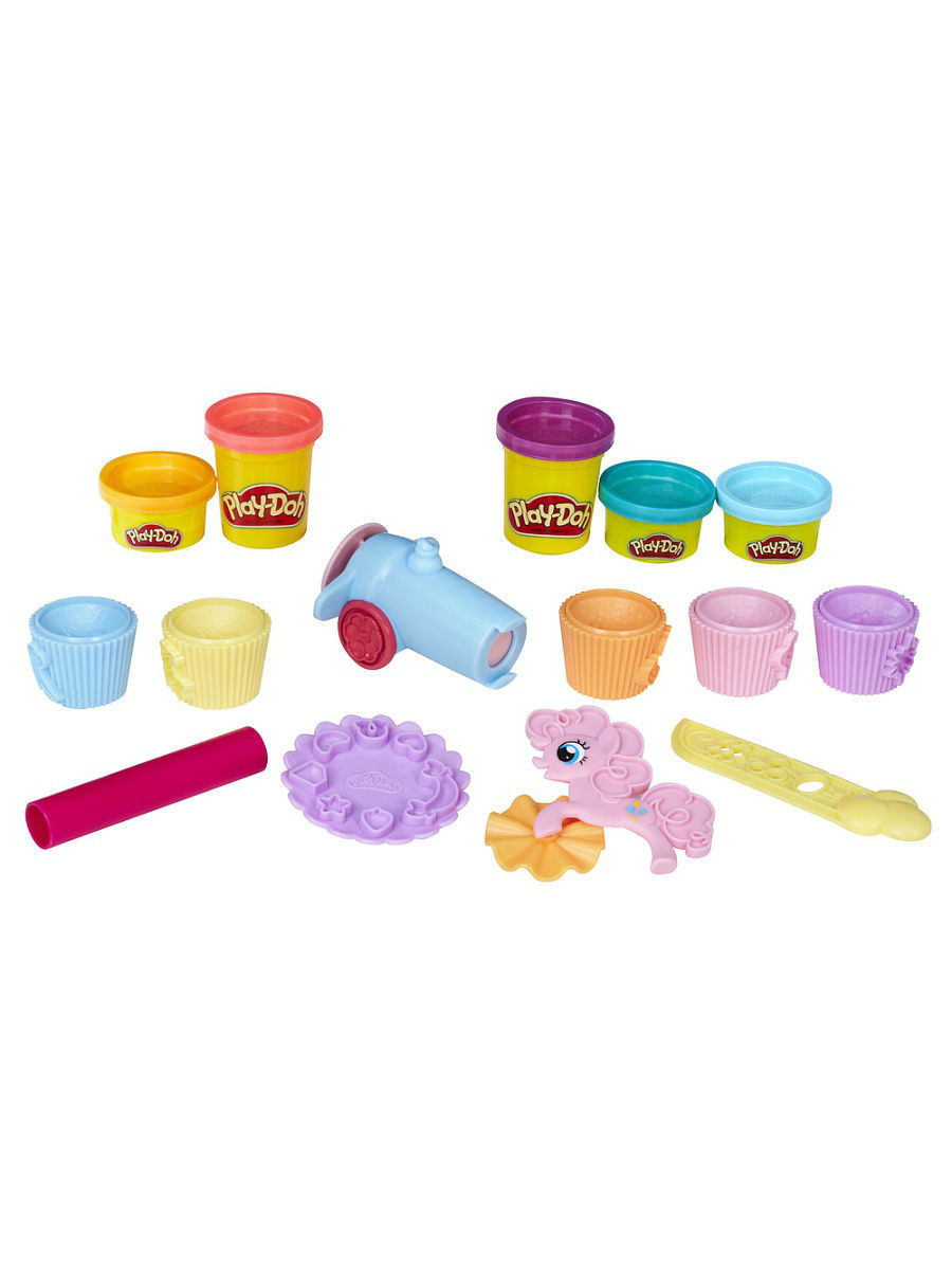 Пластилин PLAY-DOH Пластилин пластилин play doh plus в банках 8 цветов