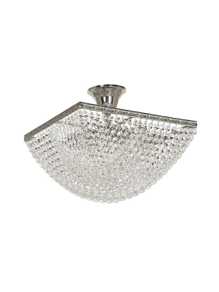 Люстры Lucia Tucci Люстра CRISTALLO 750.4 SILVER светильник industrial 1820 1 sandsilver lucia tucci
