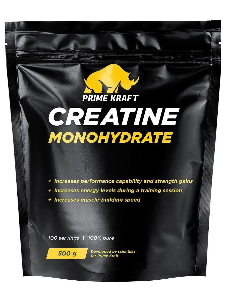Креатины Prime Kraft Creatine Monohydrate 100% pure цены онлайн