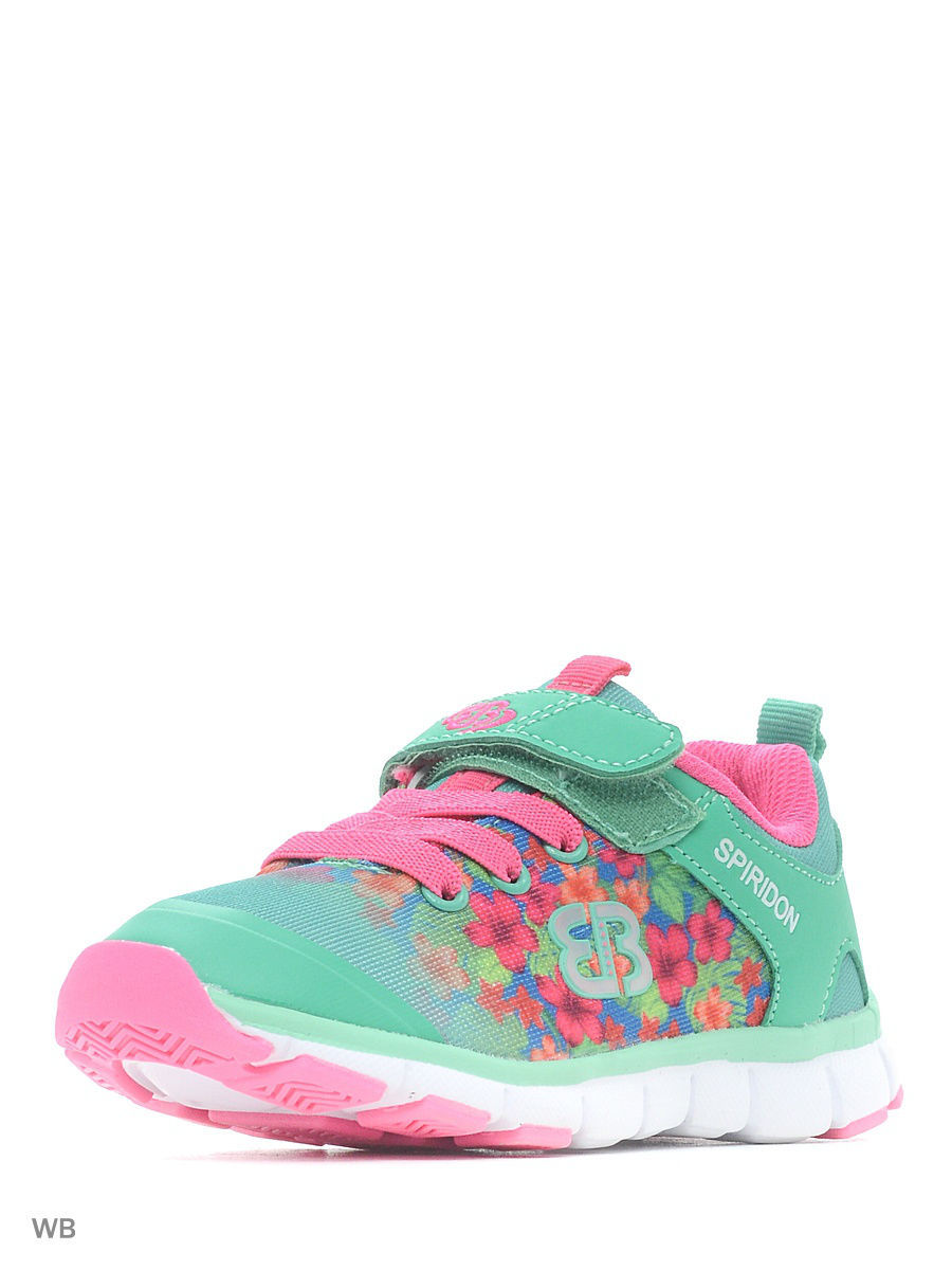 Кроссовки EB Kids 591191/mintgreen/pink/blue