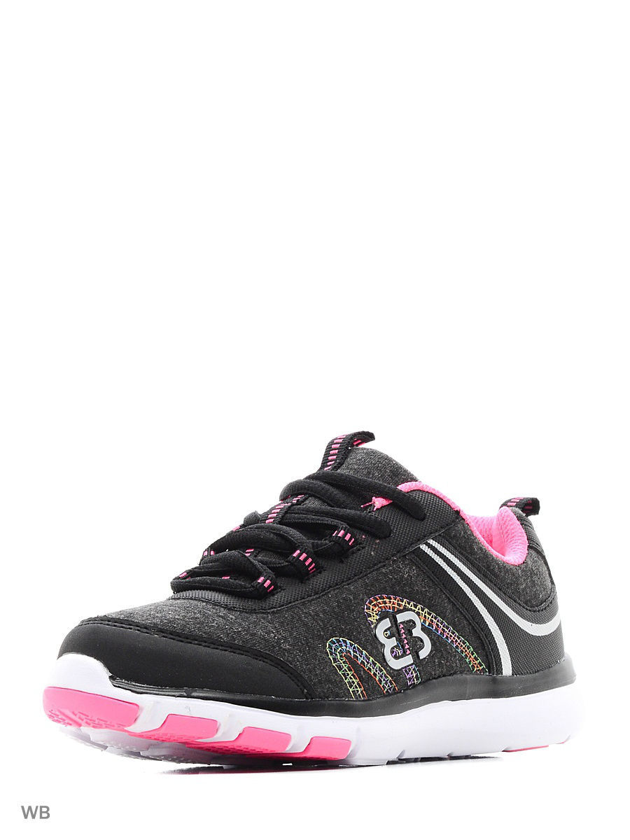 Кроссовки EB Kids 591219/black/pink