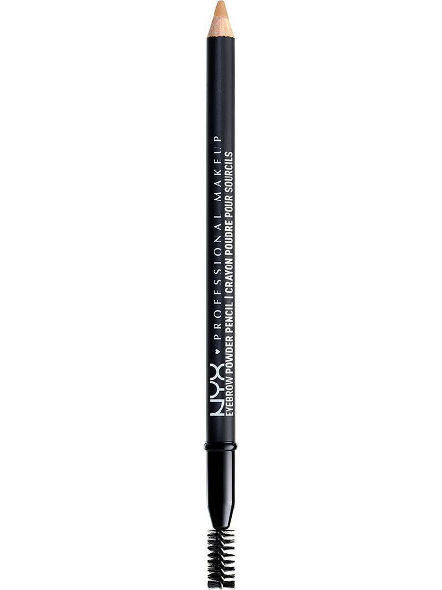 Косметические карандаши NYX PROFESSIONAL MAKEUP Карандаш для бровей. EYEBROW POWDER PENCIL - BLONDE 01 карандаш для бровей professional eyebrow pencil rimmel