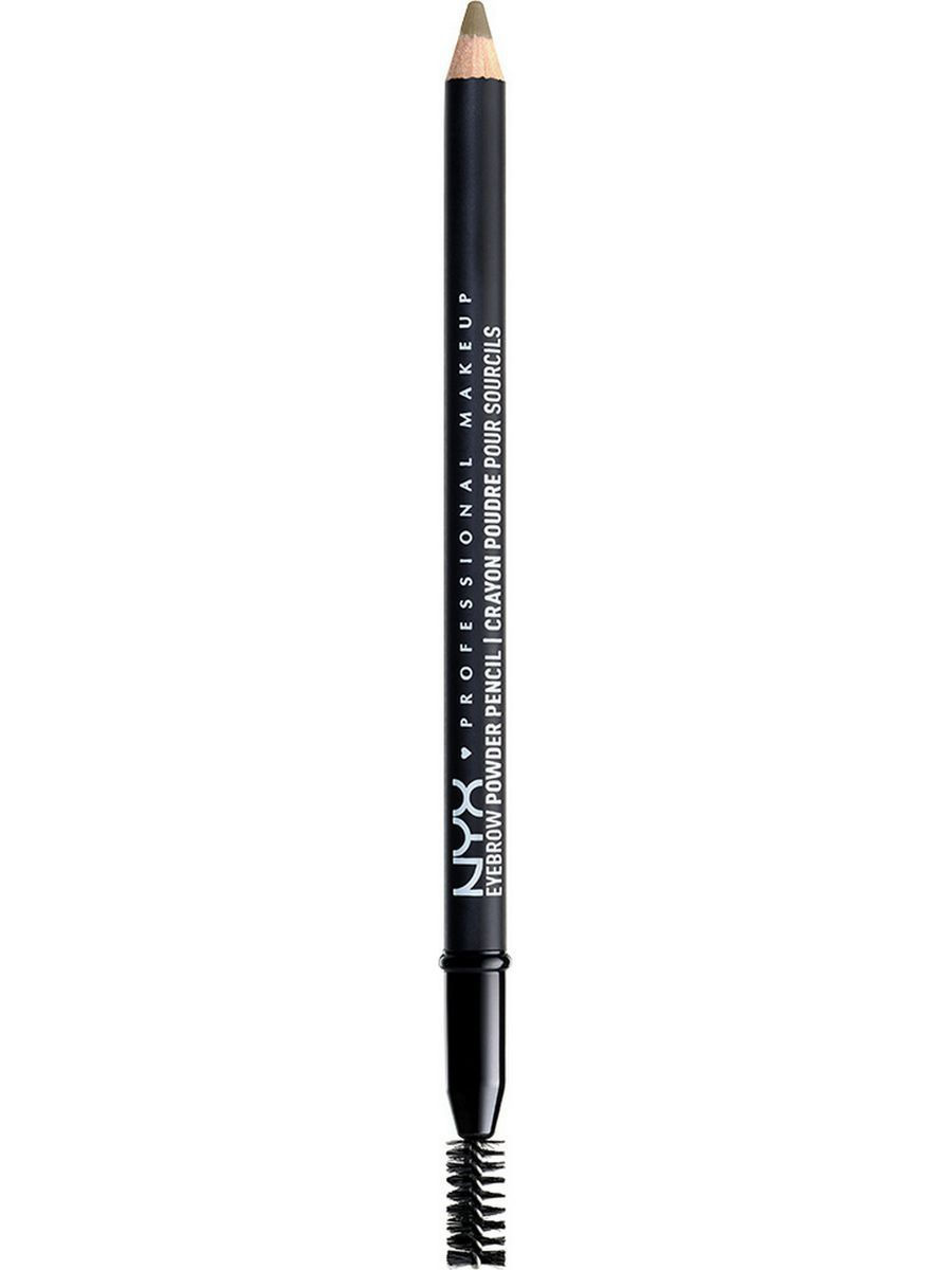 Косметические карандаши NYX PROFESSIONAL MAKEUP Карандаш для бровей. EYEBROW POWDER PENCIL - TAUPE 02 карандаш для бровей professional eyebrow pencil rimmel