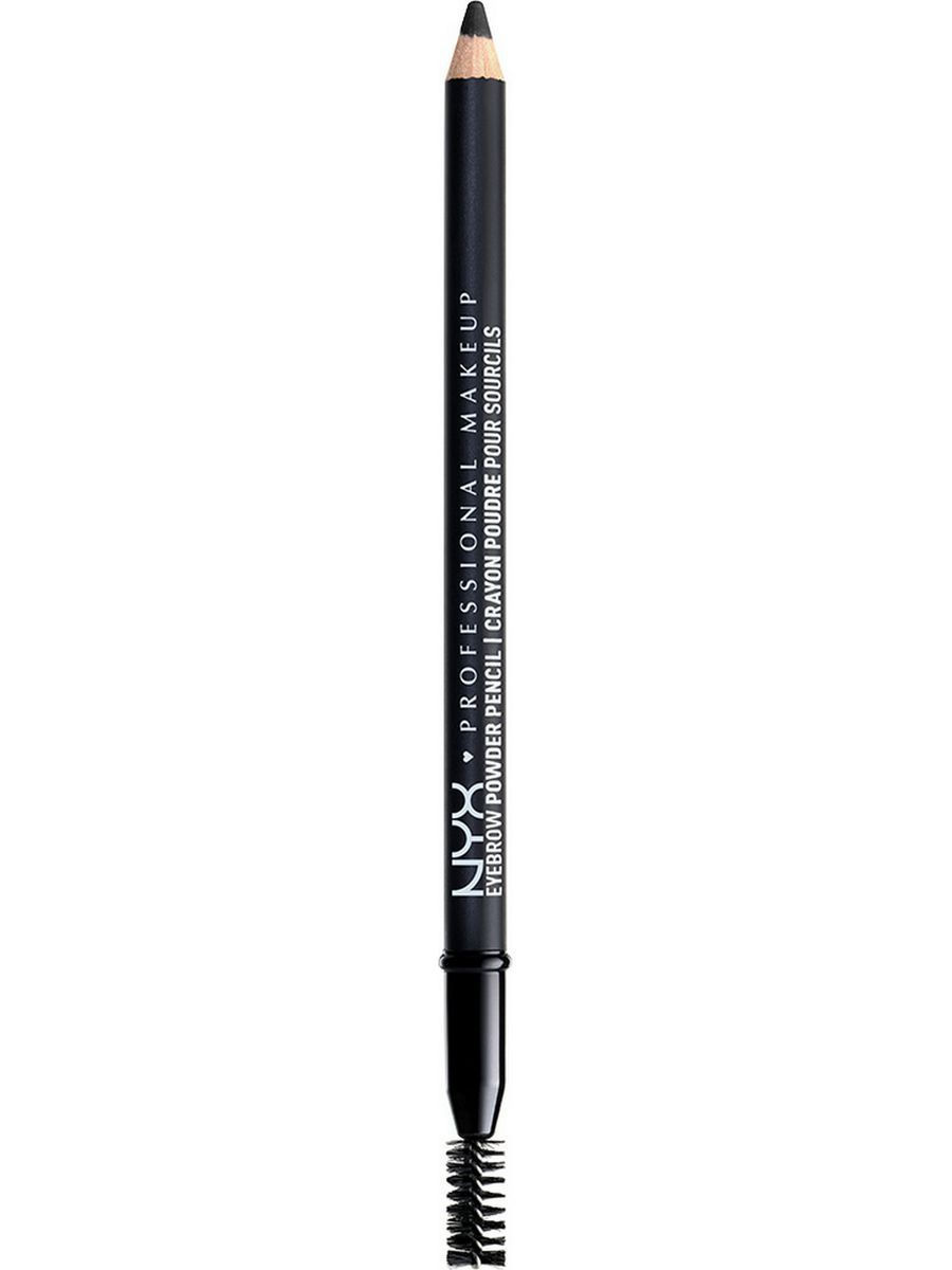 Косметические карандаши NYX PROFESSIONAL MAKEUP Карандаш для бровей. EYEBROW POWDER PENCIL - BLACK 09 карандаш для бровей professional eyebrow pencil rimmel