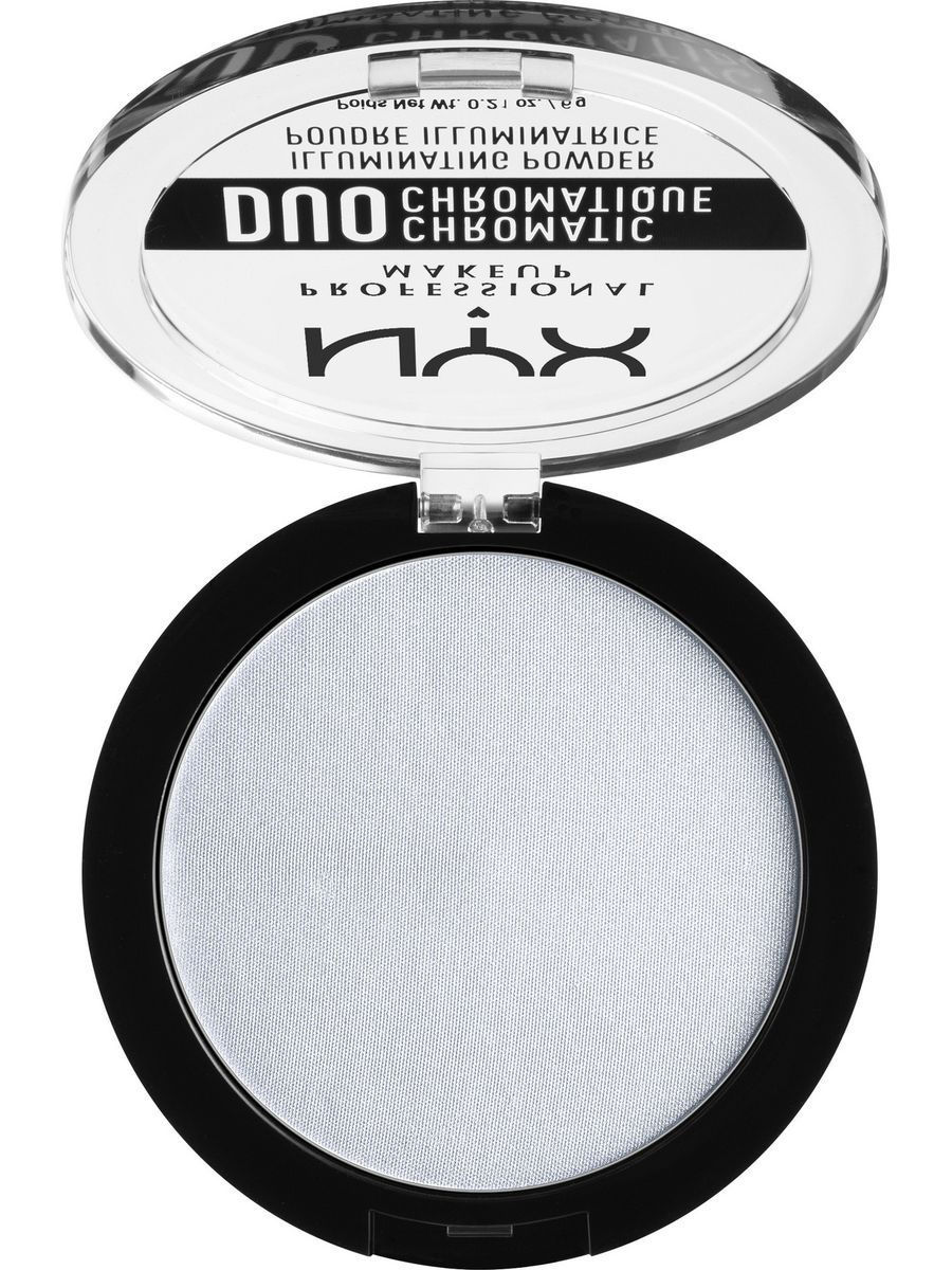 Хайлайтеры NYX PROFESSIONAL MAKEUP Сухой хайлайтер ДУО ХРОМАТИК DUO CHROMATIC ILLUMINATING POWDER - TWILIGHT TI 01 крем эфаклар дуо цена