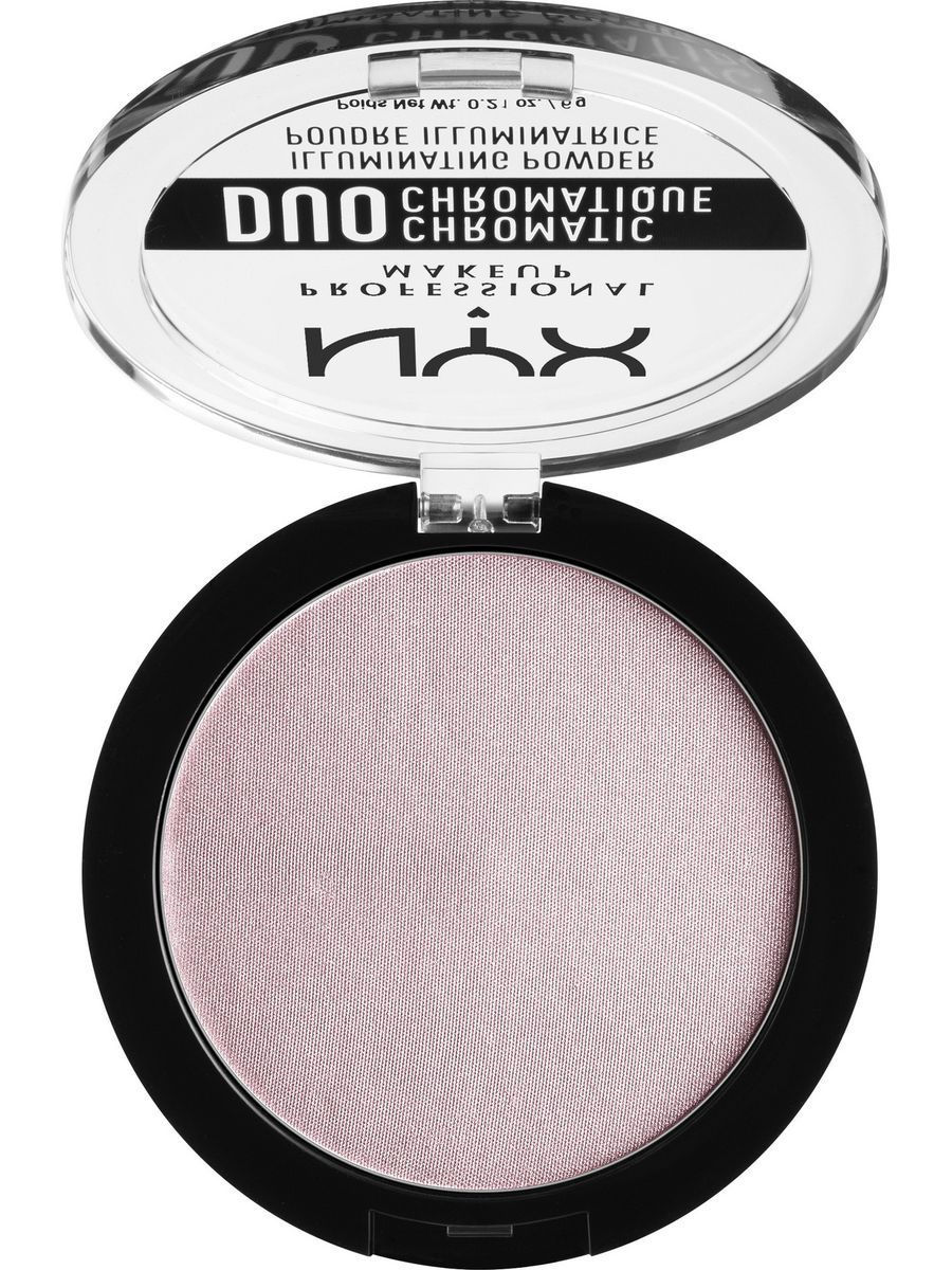 Хайлайтеры NYX PROFESSIONAL MAKEUP Сухой хайлайтер ДУО ХРОМАТИК DUO CHROMATIC ILLUMINATING POWDER - LAVENDER ST 02 крем эфаклар дуо цена