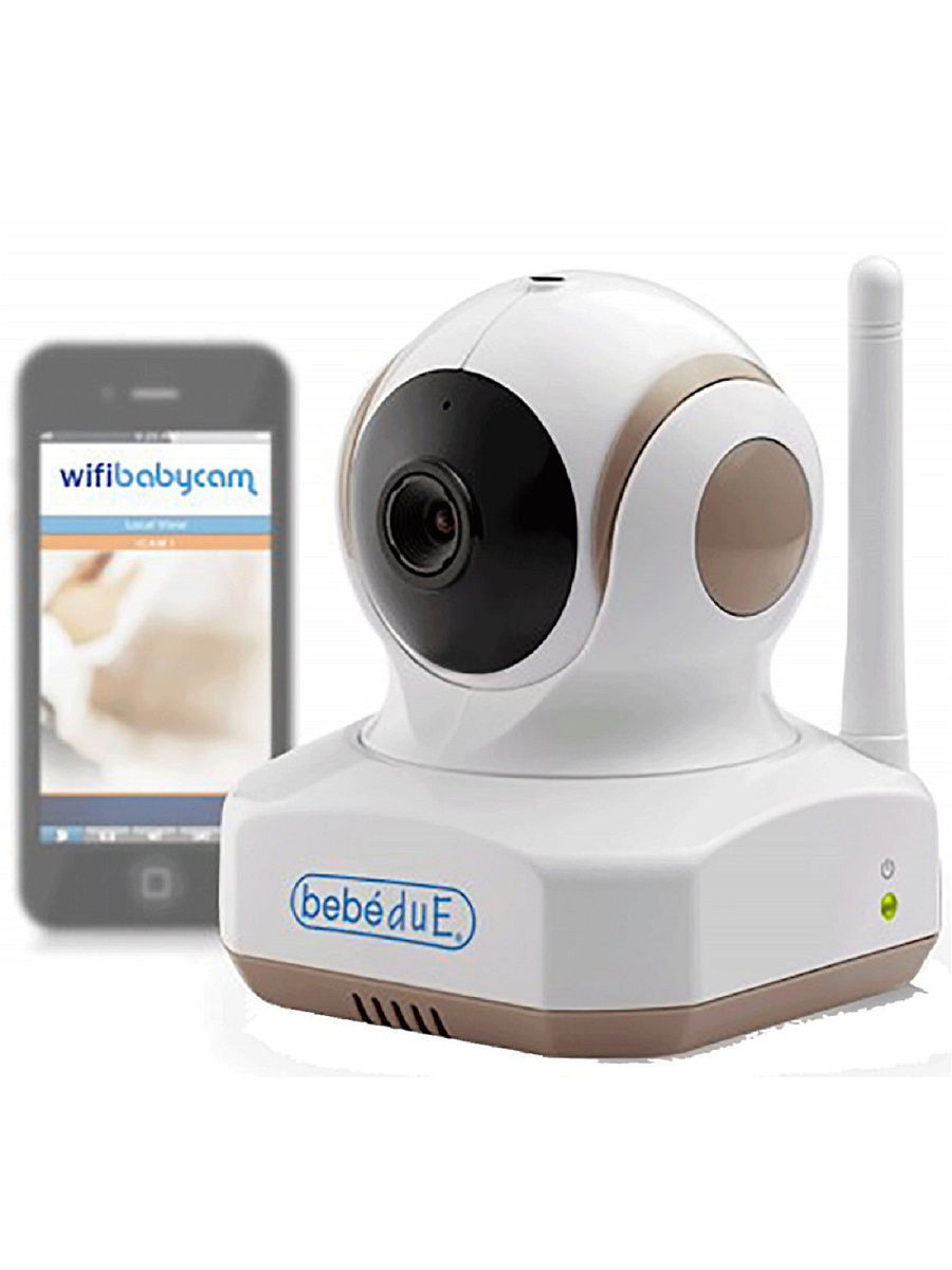 Видеоняни Bebe Due Видеоняня, работающая через интернет и Wi-Fi