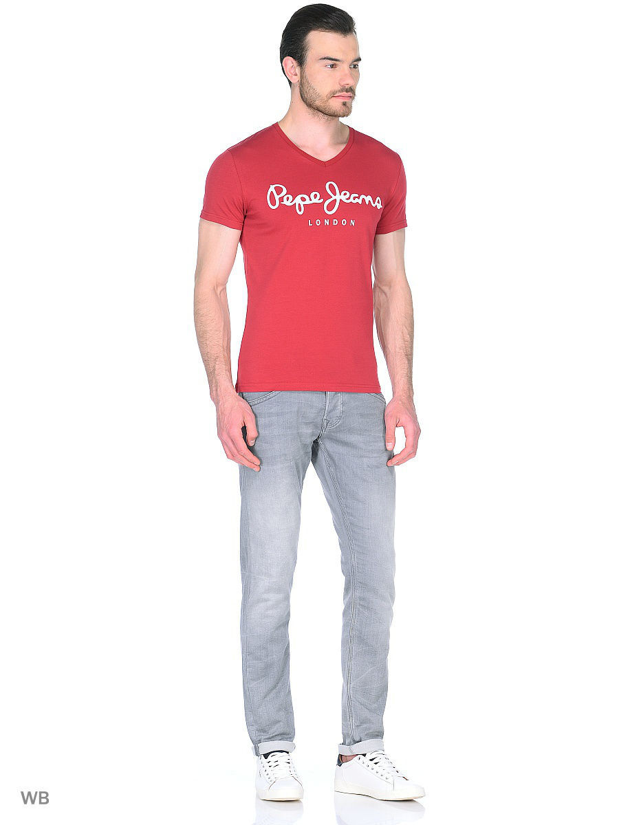 Футболка Pepe Jeans London PM500373/284GARNET