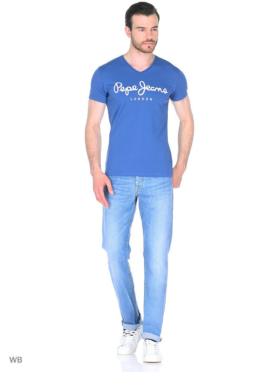 Футболка Pepe Jeans London PM500373/555MODERNBLUE