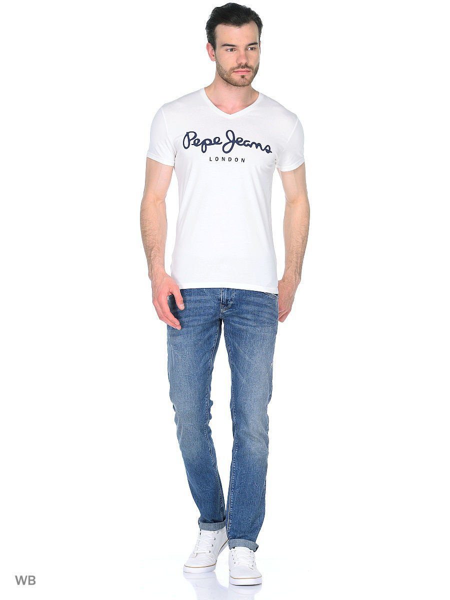 Футболка Pepe Jeans London PM500373/803OFFWHITE
