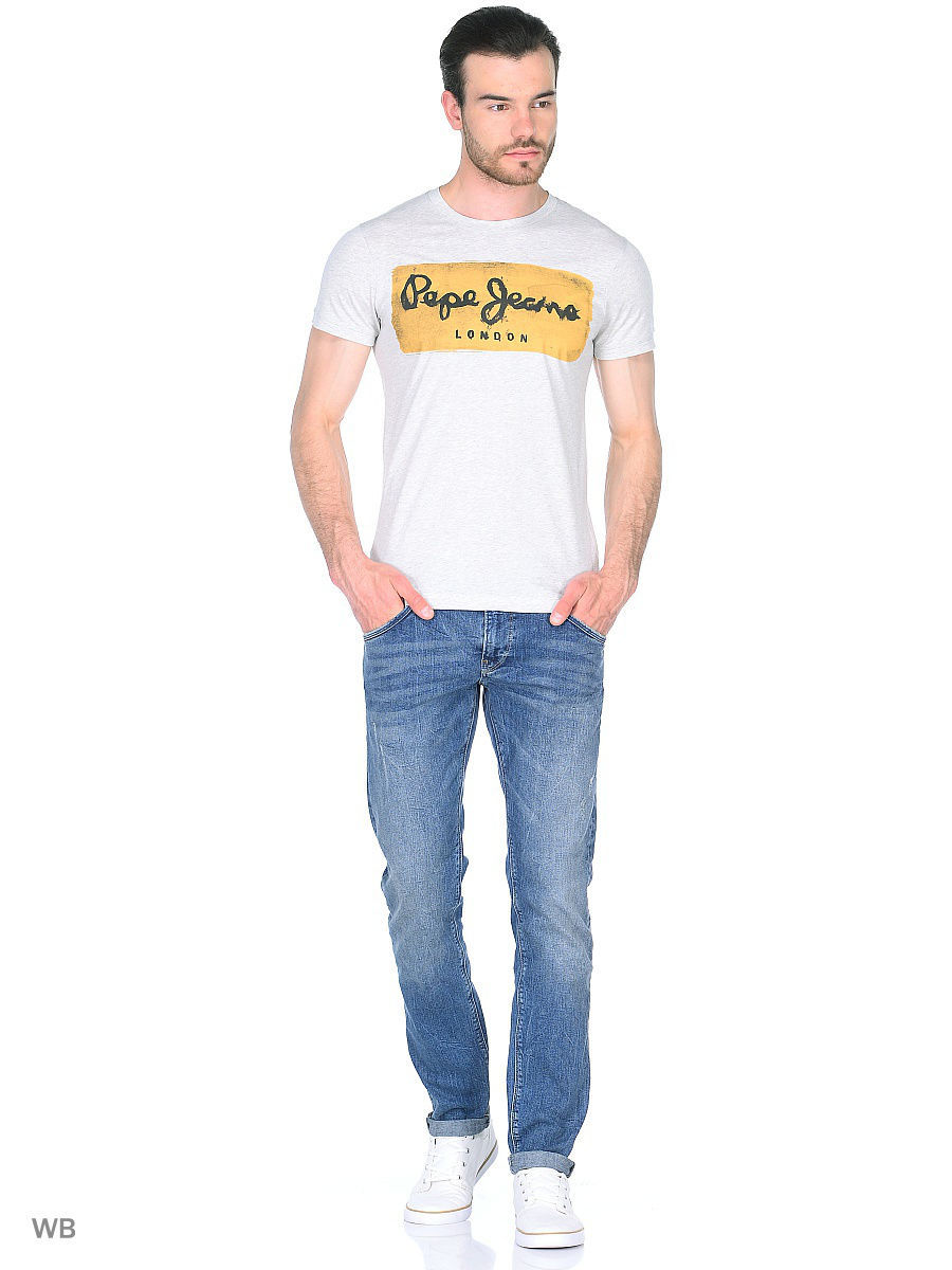 Футболка Pepe Jeans London PM503215/933GREYMARL