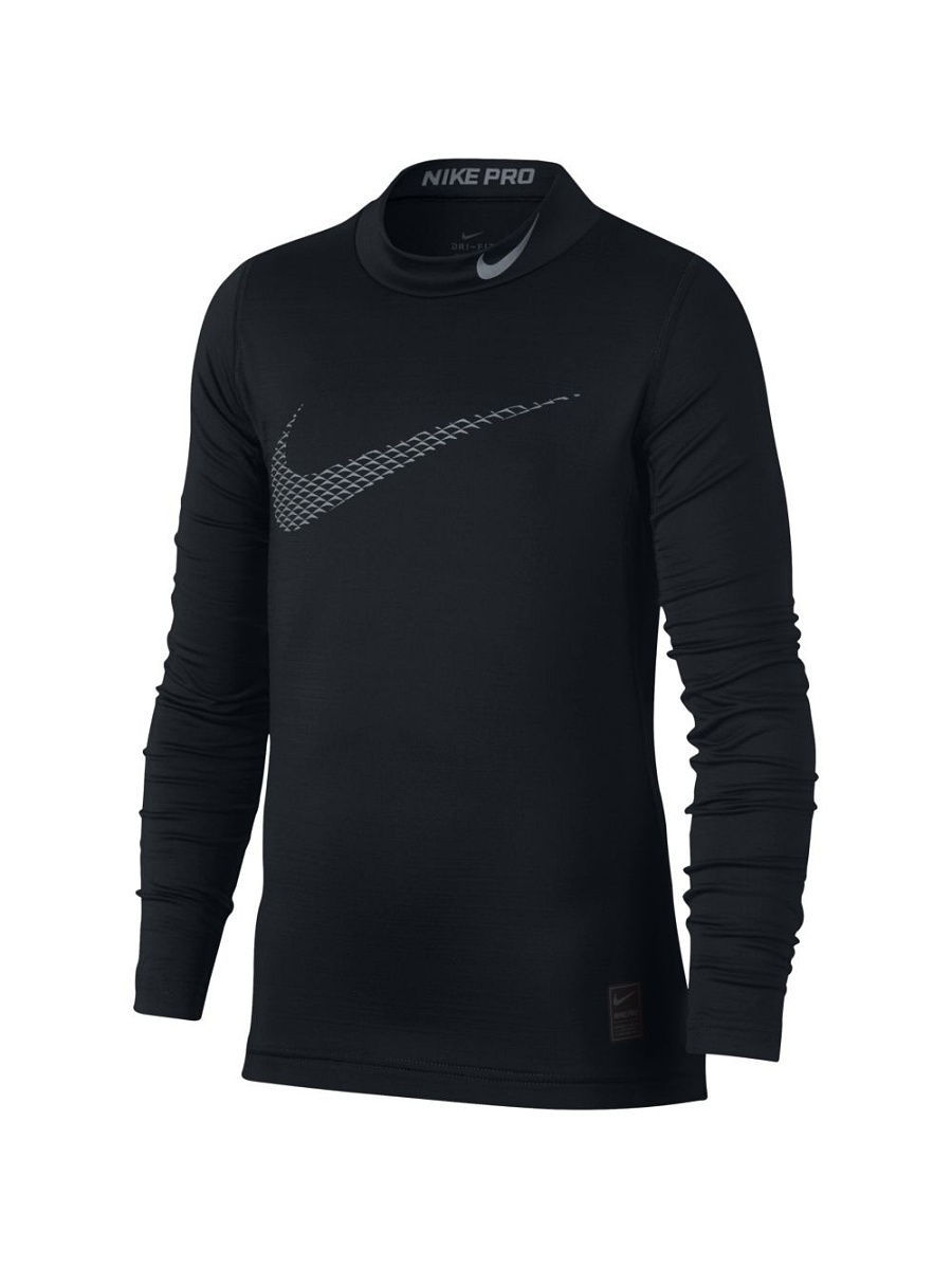 Лонгслив Nike Лонгслив B NP WM TOP LS MOCK GFX свитшоты nike свитшот dri fit training crew gfx