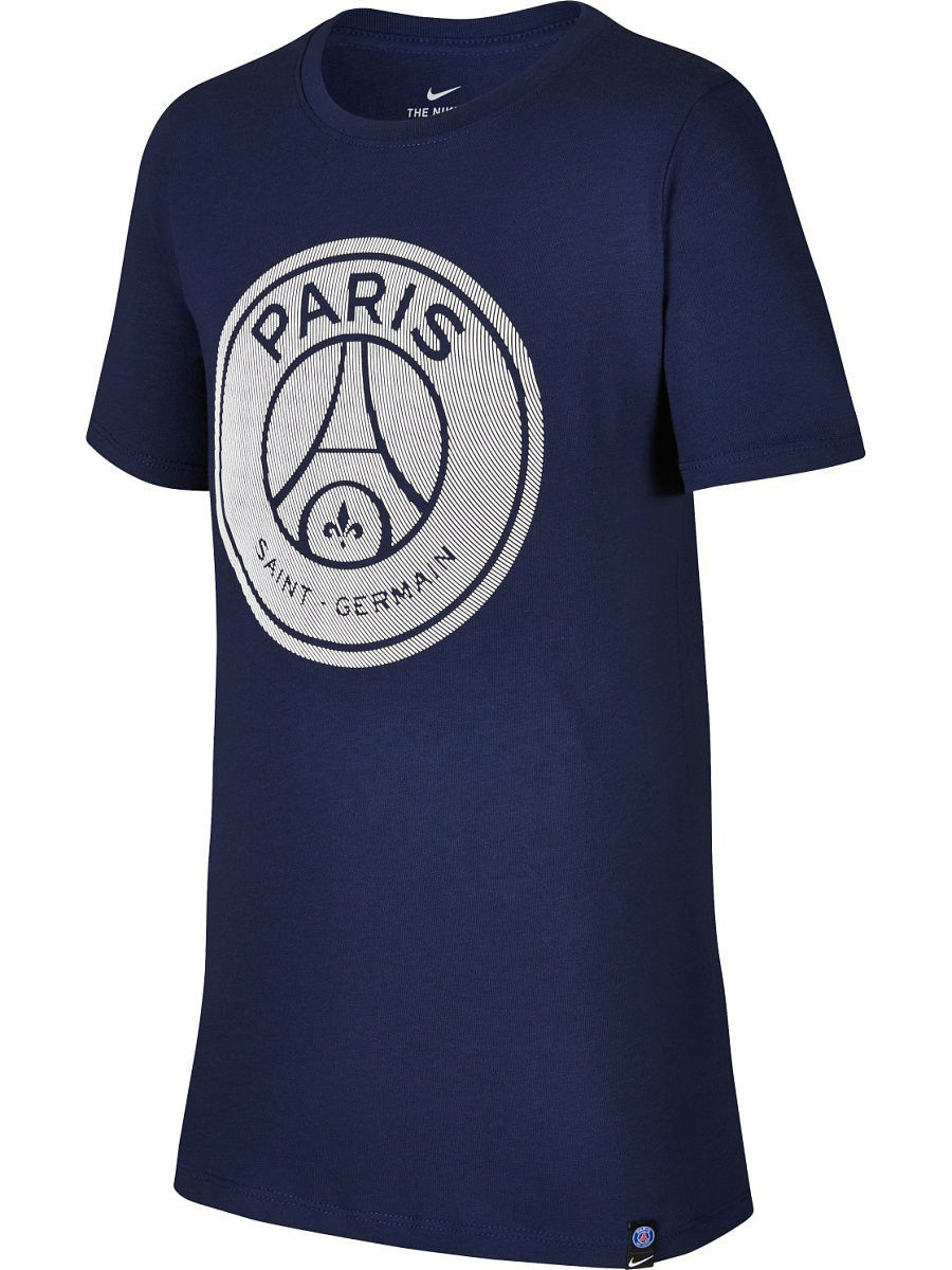 Футболка Nike Футболка PSG B NK TEE CREST psg paris saint germain bordeaux