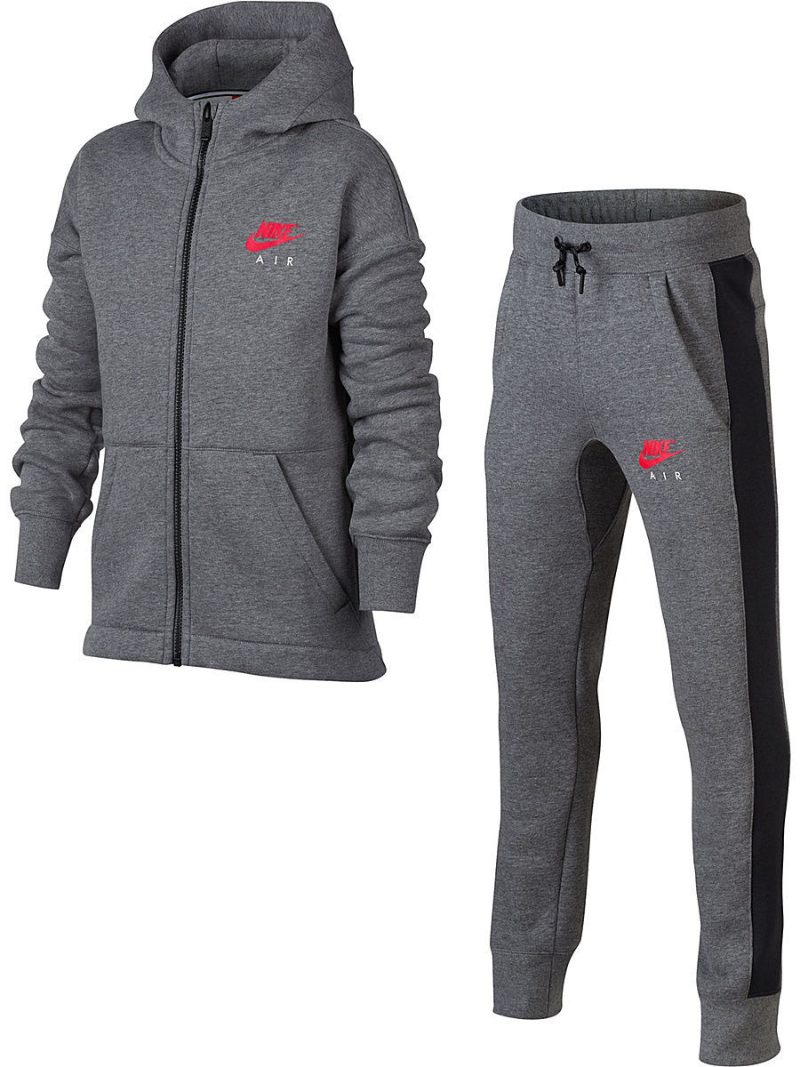 nike спортивный костюм nike club ft track suit cuff Костюмы Nike Костюм B NK AIR TRK SUIT BF CUFF