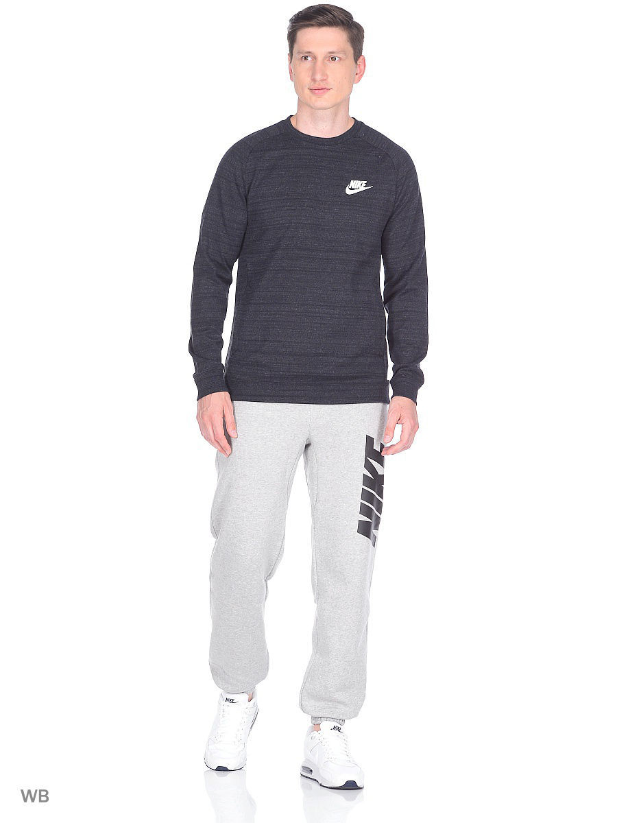Свитшоты Nike Свитшот M NSW AV15 CRW LS KNIT